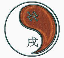Aquarius & Dog Yang Wood by astrodesigner75