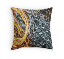 Lights in Motion #1 Throw Pillow