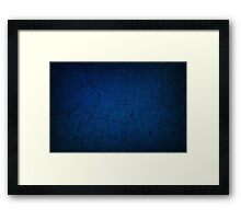 Old Wall Texture Framed Print