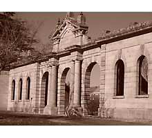 Facade of History Photographic Print