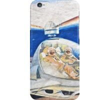 Space helicopter future iPhone Case/Skin