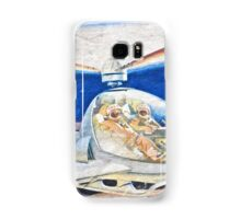 Space helicopter future Samsung Galaxy Case/Skin