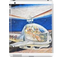 Space helicopter future iPad Case/Skin