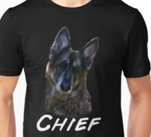 Chief shirt (chief)writing  Unisex T-Shirt