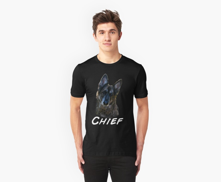 Chief shirt (chief)writing  by mandyemblow
