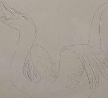 Swan Creature by Jayde Nossiter