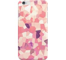 Mod Geometric Abstract Pattern Pink Retro Pastel iPhone Case/Skin