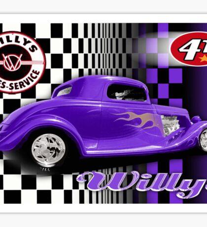 willy 41 Sticker