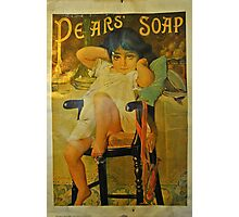 Pears Soap Photographic Print