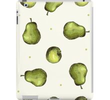 seamless pattern of fruit - apple and pear iPad Case/Skin