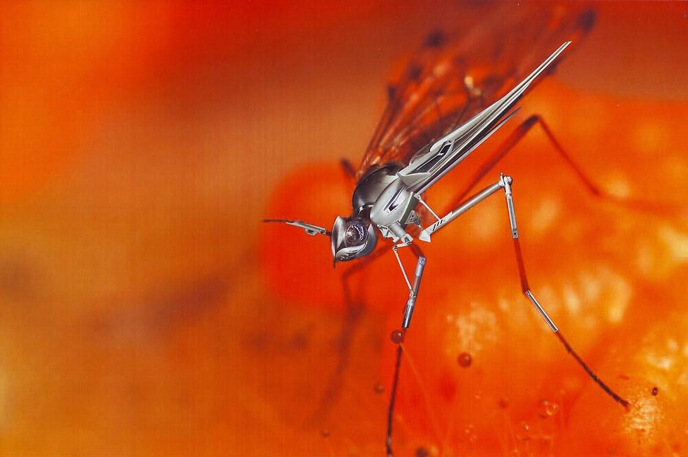 """Bio-Insektoid paranoia""....... by atomikboy"