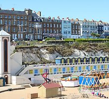 Broadstairs beach by missmoneypenny
