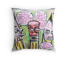 Eraserhead Throw Pillow