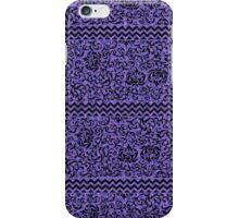 Purple Tudor Floral iPhone Case/Skin