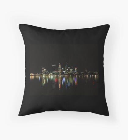 Perth sky line  Throw Pillow