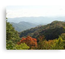 Tennessee Mountains Canvas Print