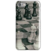 Pawns in the game iPhone Case/Skin
