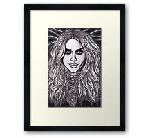 I'll Follow You Into the Dark Framed Print