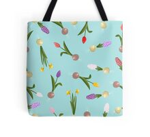 spring background sweet seamless flovers pattern Tote Bag
