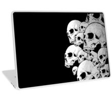 Skulls incoming - Right Laptop Skin
