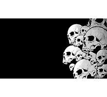 Skulls incoming - Right Photographic Print