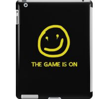 The Game is on iPad Case/Skin