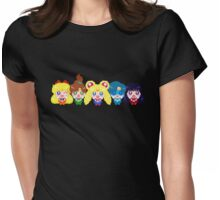 In the name of the moon we will punish you! Womens Fitted T-Shirt