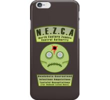 North Eastern Zombie Control Authority iPhone Case/Skin