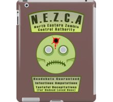 North Eastern Zombie Control Authority iPad Case/Skin