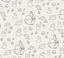 My Neighbour Totoro Pattern by conniekidd