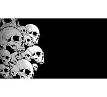 Skulls incoming - Left Photographic Print