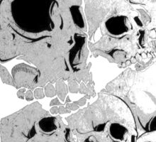 Skulls incoming - Left Sticker