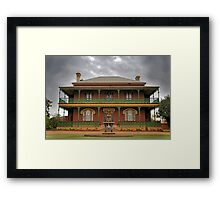 Monte Cristo Homestead, Australia's most haunted house Framed Print