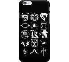 Anime Logos 2_White iPhone Case/Skin