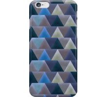 Rich Blue Art Deco Geometric iPhone Case/Skin