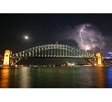 SydneyHarbourBridge Photographic Print