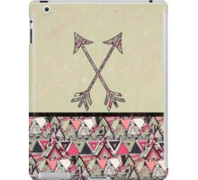 Retro Tribal Arrows Vintage Earth Aztec Pattern iPad Case/Skin