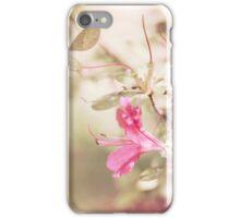 Peeking azaleas iPhone Case/Skin