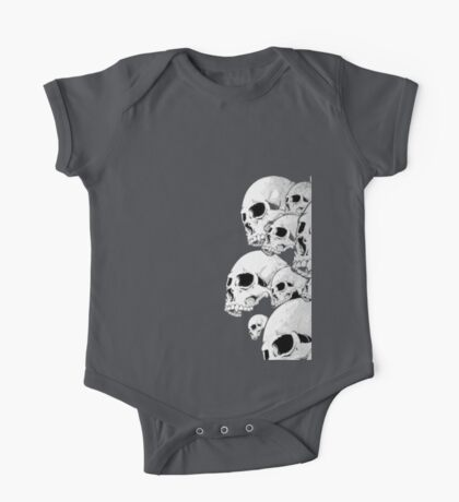 Skulls incoming - Right One Piece - Short Sleeve