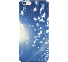 Cumulus Sun 1 iPhone Case/Skin