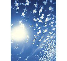 Cumulus Sun 1 Photographic Print