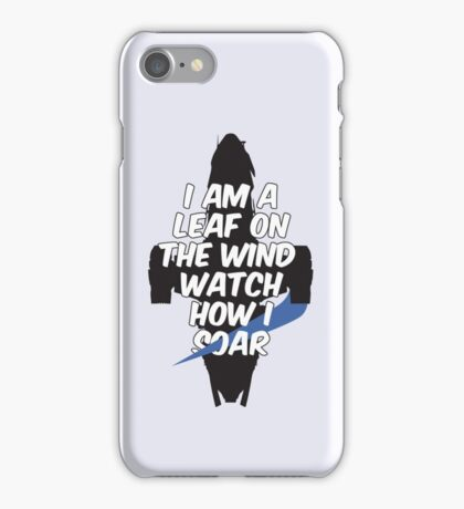 A Leaf on the Wind iPhone Case/Skin