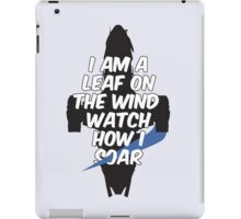 A Leaf on the Wind iPad Case/Skin