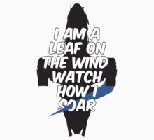 A Leaf on the Wind Kids Tee