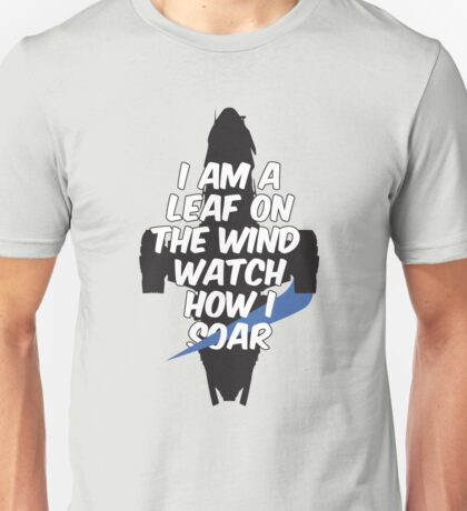 A Leaf on the Wind Unisex T-Shirt