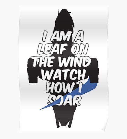 A Leaf on the Wind Poster