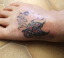 butterfly tatt 2  by bella36