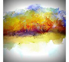 Simply Beautiful Golden Landscape Photographic Print