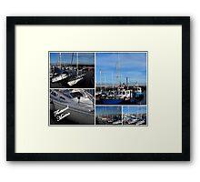 Fleetwood Marina Framed Print