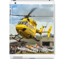 MBB BK.117C-1 G-RESC Air Ambulance arrival iPad Case/Skin